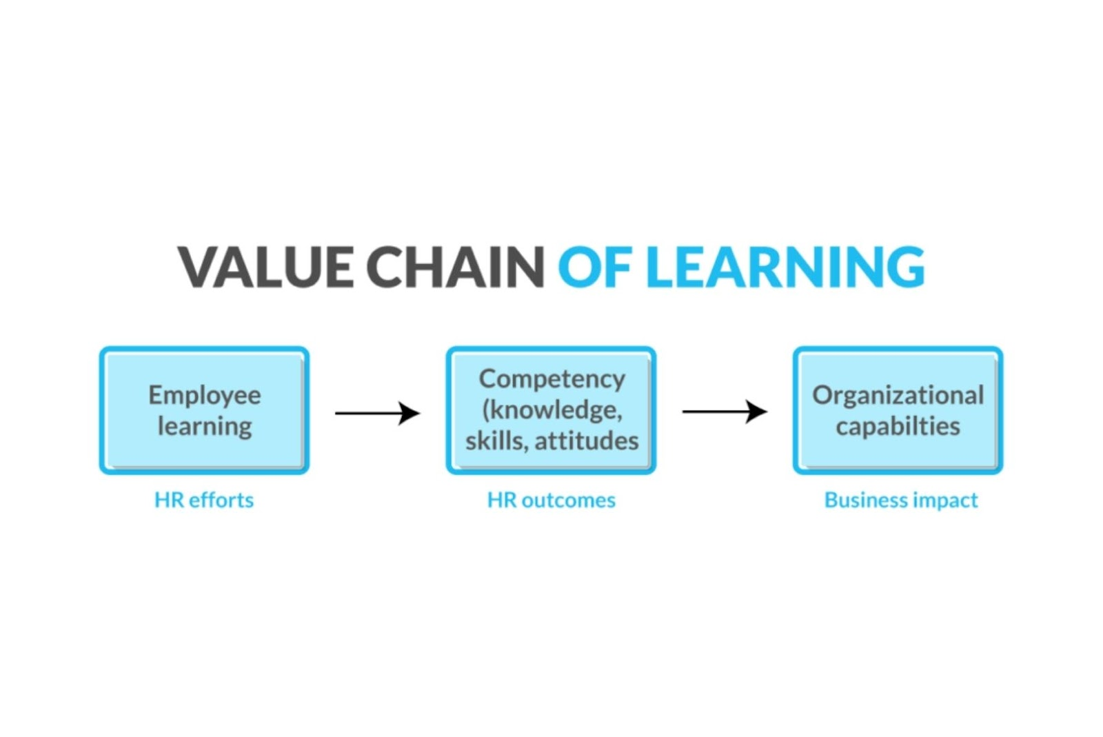 value chain of learning