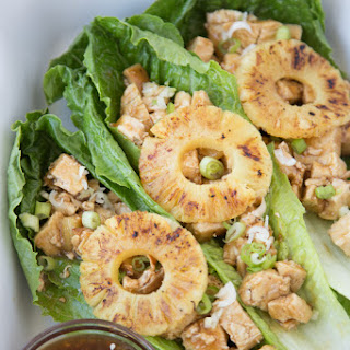 Teriyaki Chicken Lettuce Wraps Recipes