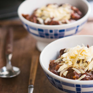 Chili with Chocolate.