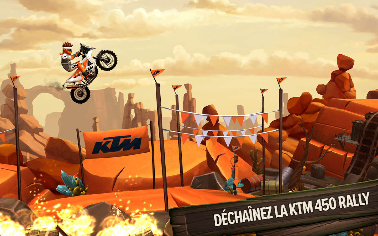 Trials Frontier – Capture d'écran