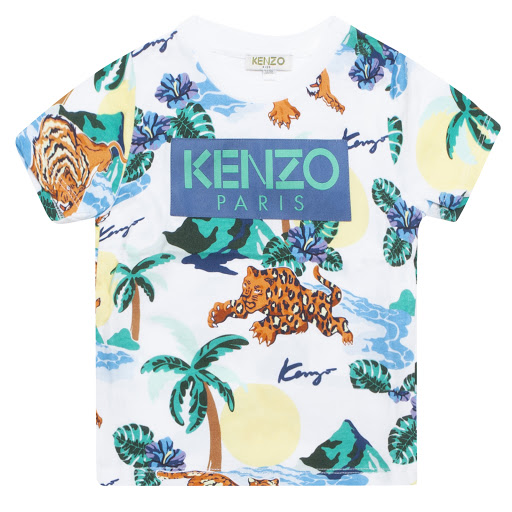 Primary image of Kenzo Tropical Cotton T-shirt