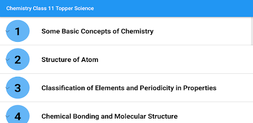 Chemistry Class 11 Notes Topper Science - Apps on Google Play