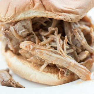 Slow Cooker Texas Style Pulled Pork.