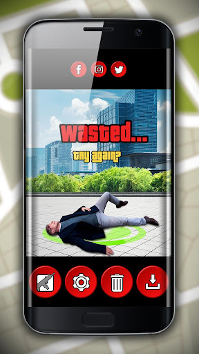 Wasted Photo Editor - Grand Theft Gangster Maker 1.1 screenshots 6