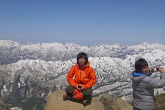 Photo: 仏に至る山