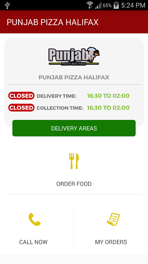PUNJAB PIZZA HALIFAX- screenshot