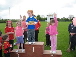 Photo: Winners of the Girls U/6 60m