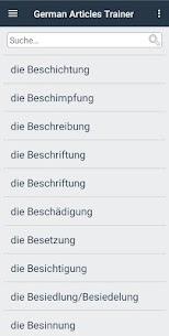 German Articles Trainer 7