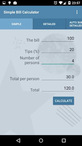 Simple Bill Splitter