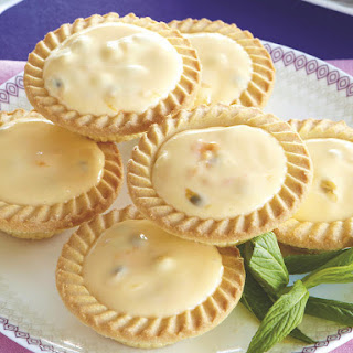 Passionfruit Tartlets