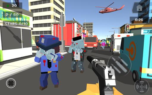 Pixel Smashy War - Gun Craft screenshot 9