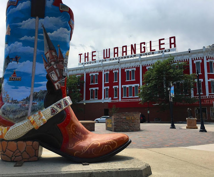 The Wrangler stands above the Depot Plaza. Photo: Everlearn Designs.