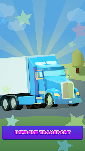 Idle Delivery City Tycoon: Cargo Transit Empire apkmr screenshots 4