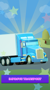 Idle Delivery City Tycoon: Cargo Transit Empire Mod Apk (Unlimited Money) 4