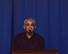 Photo: Mr Giri, the TAPAS President, opened the ceremony with his welcome address.