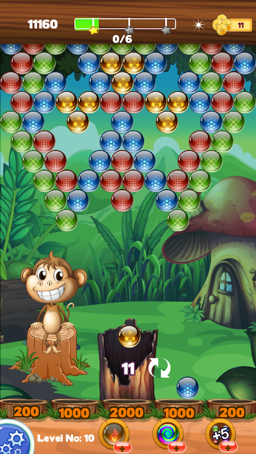 Jungle Tree Bubble Shooter- screenshot