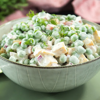 Green Pea Salad Mayonnaise Recipes.