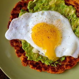 Sweet Potato Breakfast Pizza Crust.