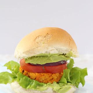 Cajun Sweet Potato and Chickpea Veggie Burger