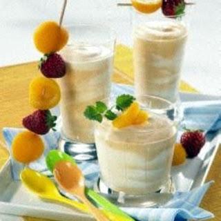 Gestrudelte Joghurt-Mousse