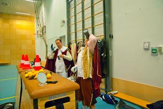 Photo: Generale repetitie - oefenen met de drank