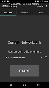 LTE Discovery Screenshot