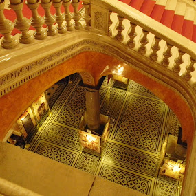Stairway to by Gary Ambessi - Buildings & Architecture Other Interior