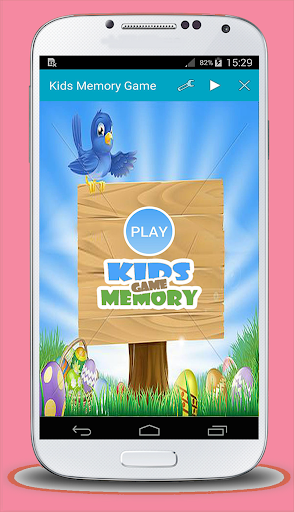 Kids Memory Game Match Objects