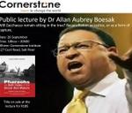 Open Lecture by Dr Allan Boesak : Cornerstone Institute