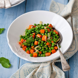 Minty Peas and Carrots Recipe