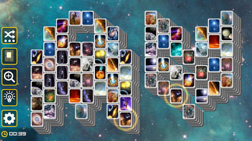 Mahjong Galaxy Space: astronomy mahjongg solitaire screenshots 3