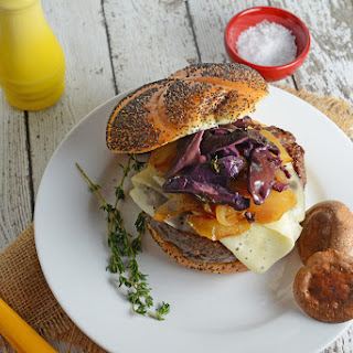 Red Wine Shiitake Burgers