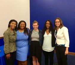 Photo: 4.14.15 Zerlina Maxwell's talk at Georgetown University in Washington, DC