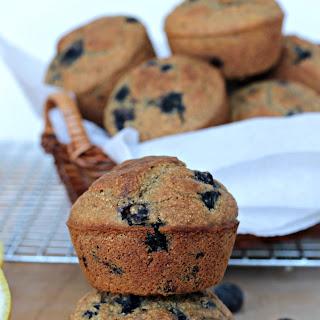 Blueberry Lemon Cornmeal Muffins.