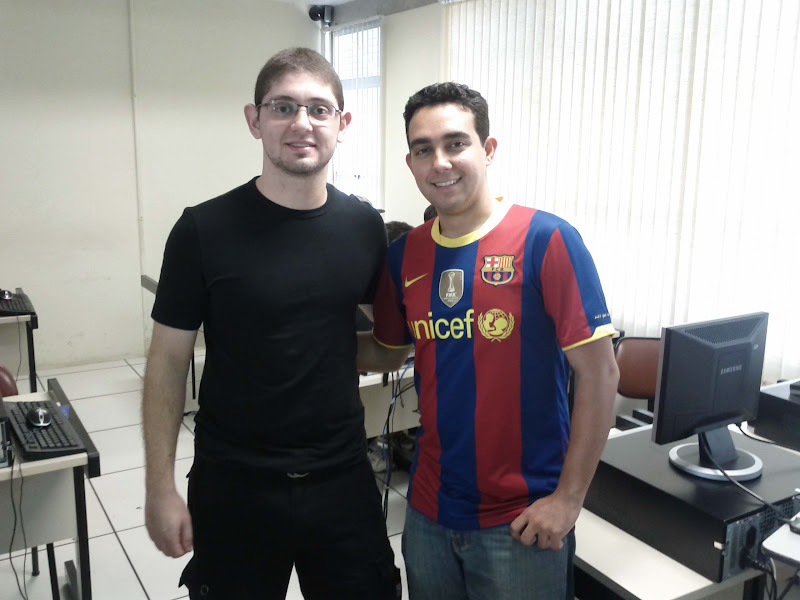 Photo: Leo e Thiago - Organizadore e Técnicos