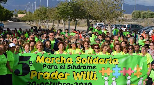 Marcha por el Síndrome Prader Willi