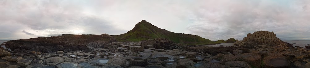 Photo: Giants Causeway. Taken at 5:20am with the Raspberry Pi camera board (112 separate photographs). Stitched with Hugin #RPPA