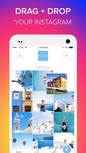 Plann: Preview, Analytics + Schedule for Instagram  screenshots 1