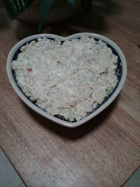 I Love The Dill In This Potato Salad, It Just Gives It Some Additional Zing.  A Different Potato Salad Than The Traditional Southern Style.