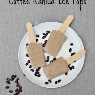Coffee and Kahlua Ice Pops