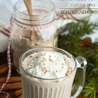 Cinnamon Spiced Homemade Hot Cocoa Mix.