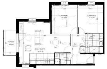 appartement à Leers (59)