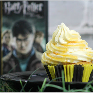 Harry Potter Butter Beer Cupcakes