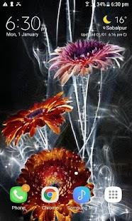 Lighting Flowers Live Wallpaper - náhled