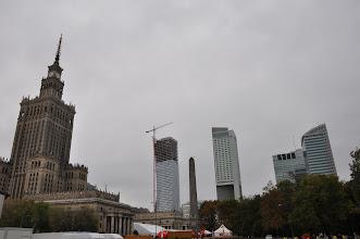 Photo: Celá desetiletí PKV symbolizoval nadvládu Sovětského svazu nad ujařmeným Polskem. Dnes se dostává do stínu odvážných, moderních mrakodrapů.