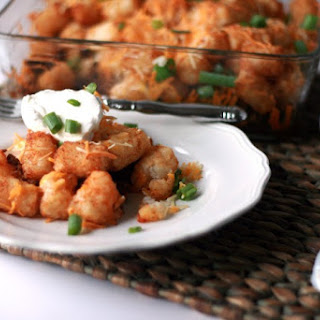 Quick and Easy Taco Tator Tot Casserole