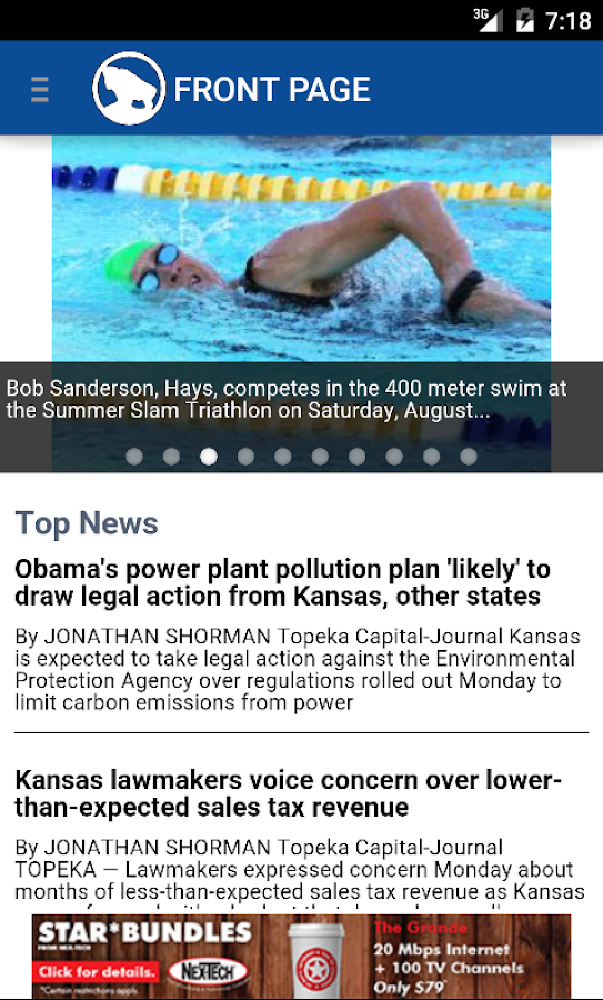 The Hays Daily News- screenshot