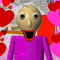 Lover Math Teacher Valentines Day School Education icon