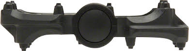 "Tioga DAZZ Lite Pedals, 9/16"" Plastic Platform, Black alternate image 0"