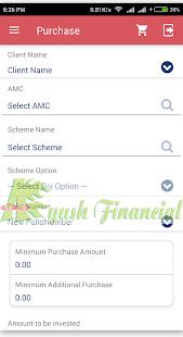 AyushFinancials - náhled